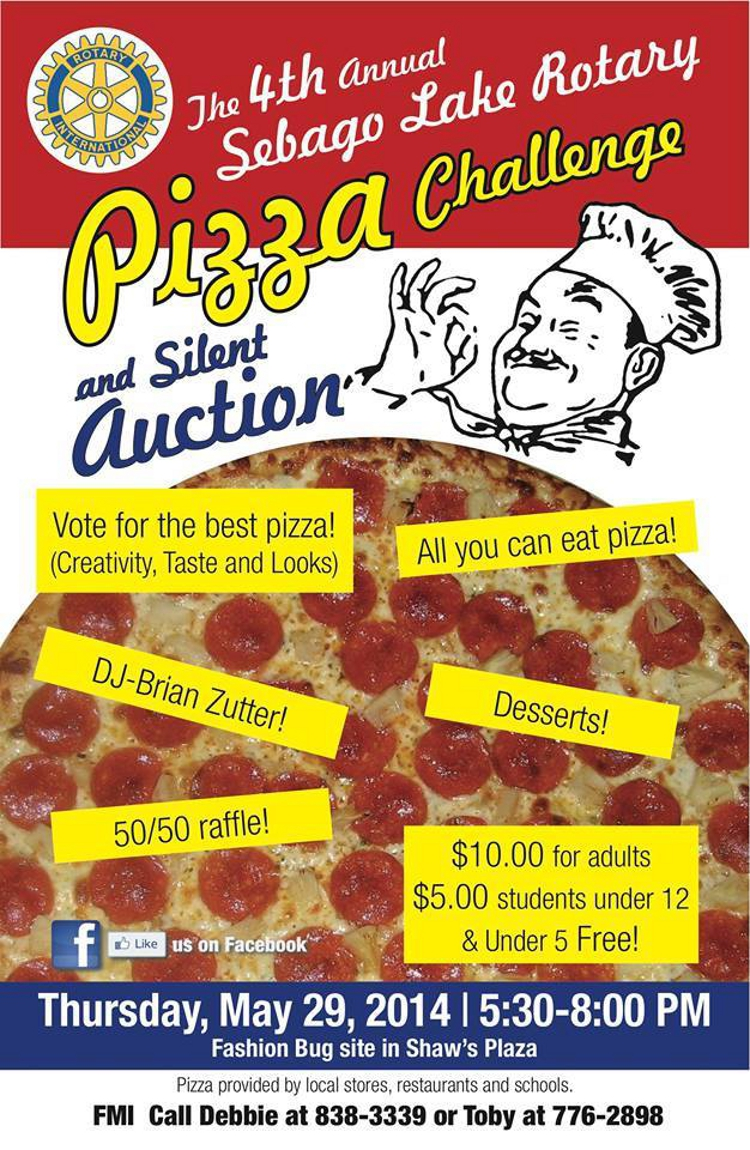 sebago pizza challenge